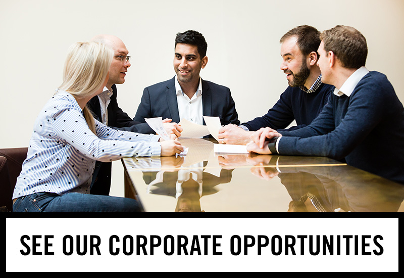 Corporate opportunities at The Half Moon Inn