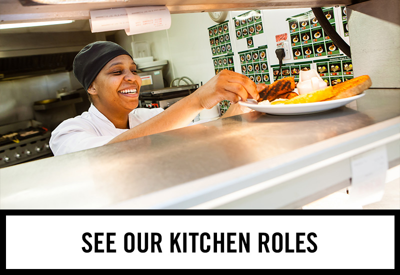Kitchen roles at The Half Moon Inn