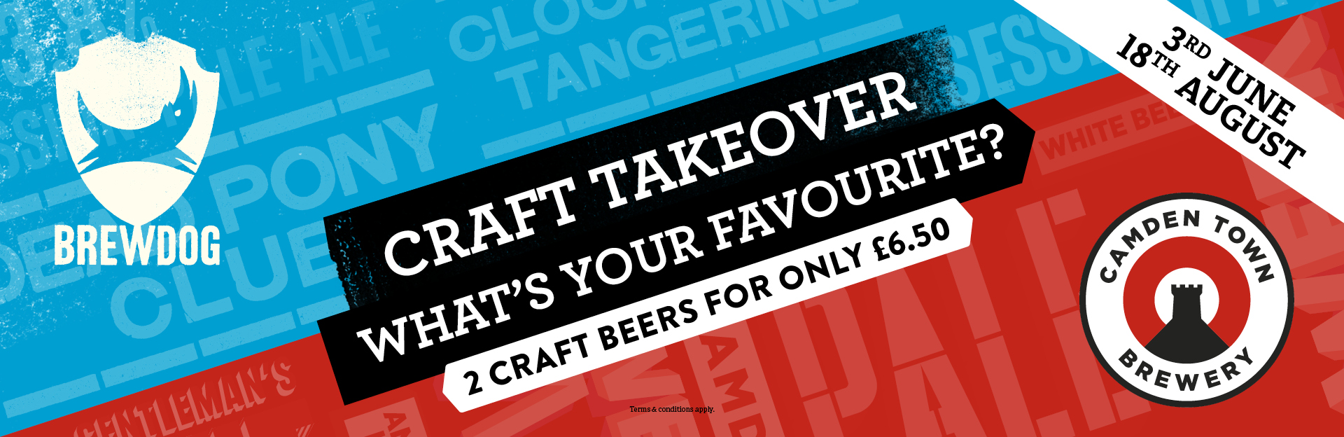 Craft Takeover at The Half Moon Inn